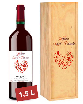 magnum vin rouge personnalisé