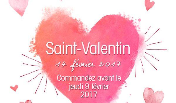 Idée cadeau pour la St Valentin 2017