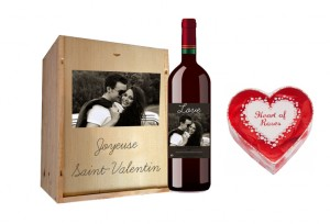 vin rouge personnalisé